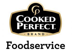 cooked perfect brand foodservice logo