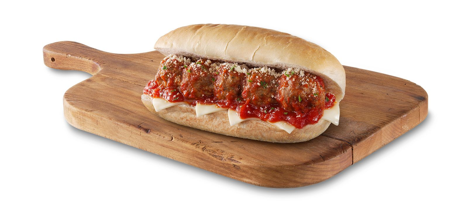rollerbites-meatball-sub-on-cutting-board